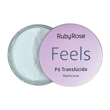 Pó Translucido Matificante Coleção Feels Ruby Rose