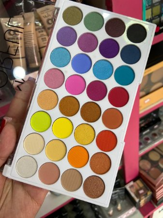 Paleta de Sombras Colorfull World - Jasmyne