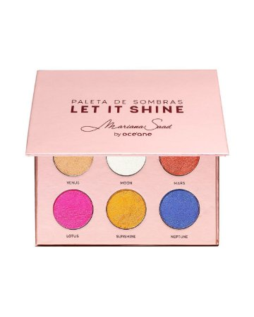 Paleta de Sombras Let It Shine Mariana Saad by Océane