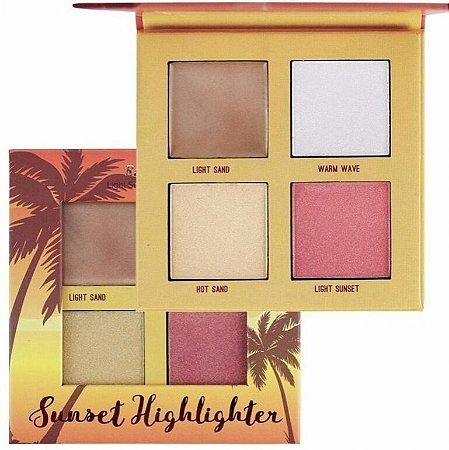 Paleta de Iluminadores Sunset Highlighter - Ruby Rose