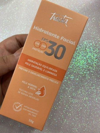 Hidratante Facial FPS 30 Pele Normal e Seca - Tracta