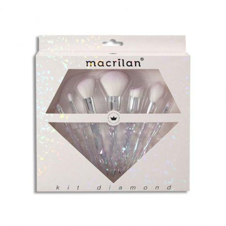Kit de Pincéis Linha Diamond - Macrilan