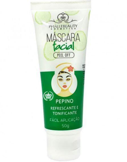 Máscara Facial Pepino - Phallebeauty