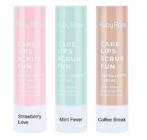 Esfoliante Labial Lips Scrub Fun- Ruby Rose