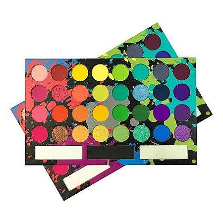 Paleta de Sombras Tropical 32 cores - MyLife