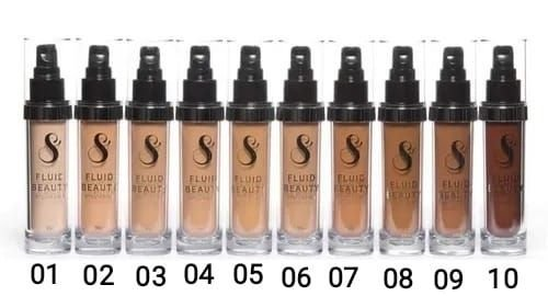 Base Liquida Fluida Beauty Suelen Make Up - 30 Ml
