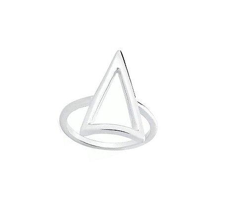 Anel Triângulo Longo PRATA 925