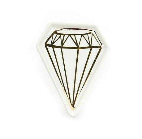 Porta Joia Pratinho Diamante