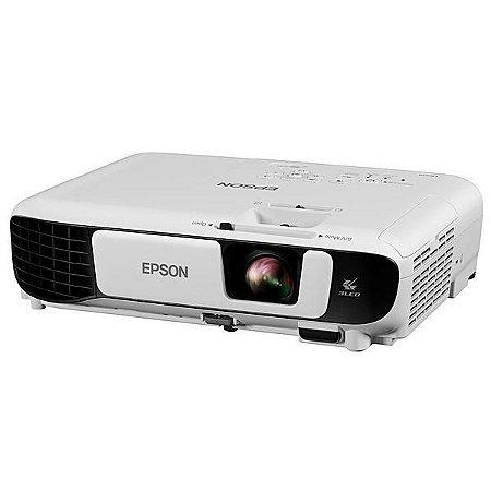 Projetor Epson PowerLite S41+ de 3.300 Lumens HDMI/VGA Bivolt - Branco