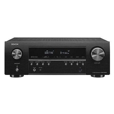Receiver Denon AVR-S540BT 5.2 Canais 4K/Bluetooth 110v Preto
