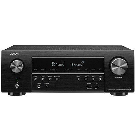 Receiver Denon AVR-S740H 7.2CH 4K Ultra HD/WiFi/Bluetooth/AirPlay