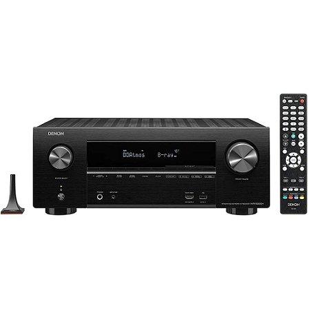Receiver Denon AVR-X2600H 7.2CH Ultra HD 4K/ HDMI/ Wifi/ Bluetooth