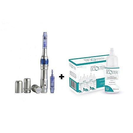 Smart Derma Pen + Smart Booster - Renovador Cutâneo Caixa - 05un - Smart GR