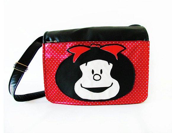 Bolsa Mafalda Transversal Comp. Notebook 14''