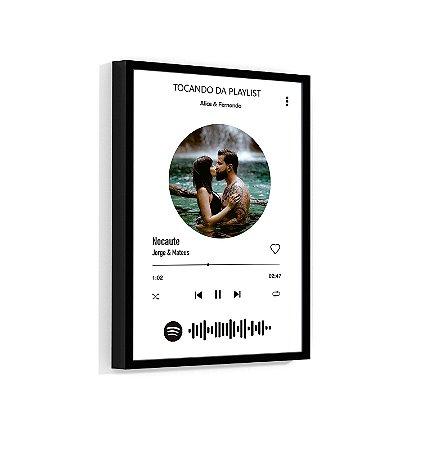 Quadro Personalizado Com Sua Foto E Sua Música Spotify 03