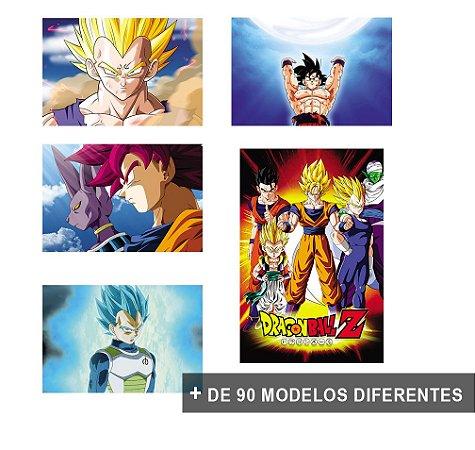 Placas Decorativas Dragon Ball Super DBZ