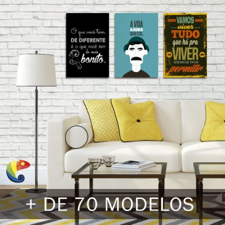 Placas Decorativas Frases