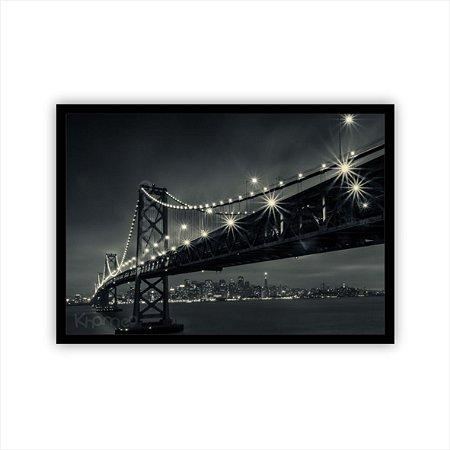 Quadro decorativo Ponte São Francisco