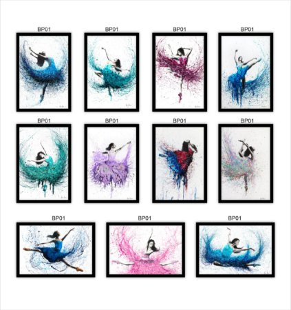 Quadro decorativo Bailarina Estilo Pintura