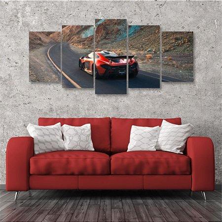 Quadro 5 peças McLaren P1 Carro Esportivo Automotive