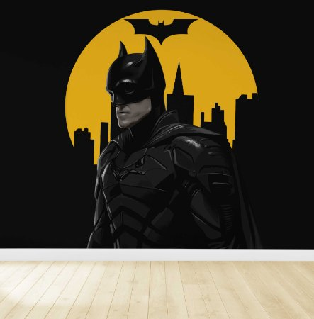 Papel De Parede Adesivo Batman 01