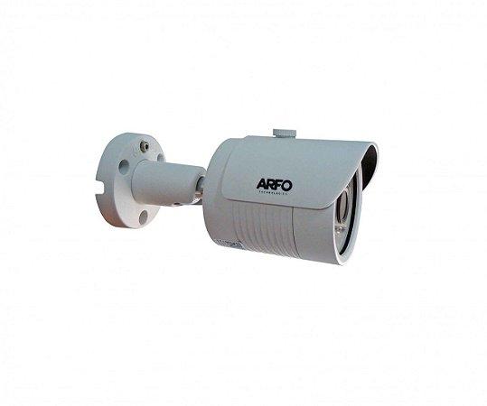 CÂMERA DE SEGURANÇA BULLET ARFO IP AR-S400, IR 30MT, 1/3, 4MP, 2688(H)*1520(V). H.264/H.265/H.265+ POE