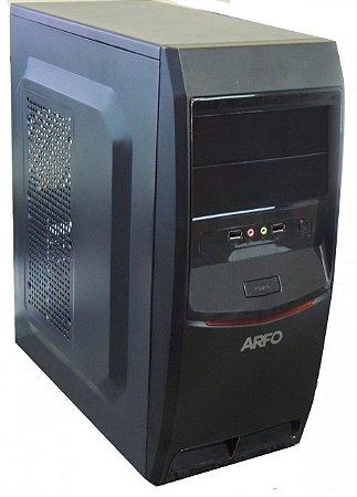 COMPUTADOR ARFO INTEL CORE I5 7400 7TH, VGA, HDMI E SERIAL com 4GB DDR3 + HD 500GB, 6 USB, GABINETE ATX COM FONTE LINUX
