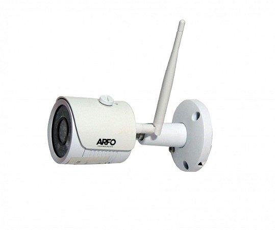 """CÂMERA DE SEGURANÇA BULLET ARFO IP/AP AR-200W, IR 30MT, 1/3.6"""", FULLHD 1080P/720P"""