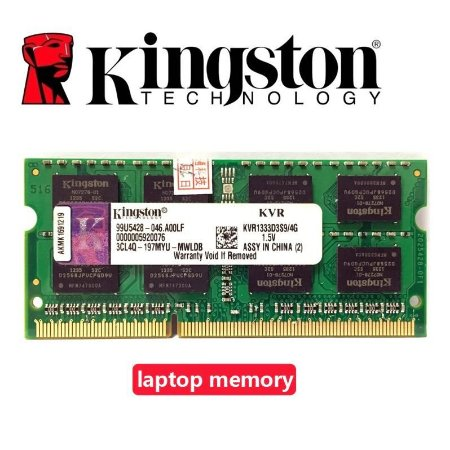 MEMORIA DDR3 4GB 1333MHZ SODIMM- KVR1333D3S9/4G-10600 KINGSTON