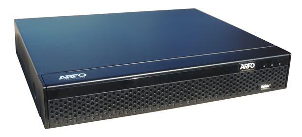 DVR ARFO 2116D 16 CANAIS FULLHD 5X1 1080P H264 FULL HD ACEITA ATÉ 10TB