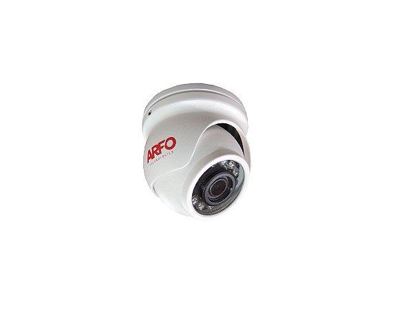 CÂMERA ARFO  MINI DOME BNC HD 2 MEGA PIXEL MOD. AR-200F  3.6mm, Alcance 20Mt