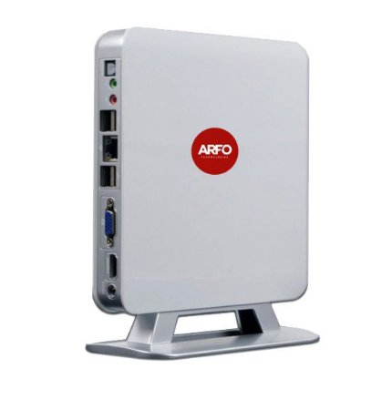 MINI PC HOME ARFO MOD. AR-1135, AMD, 4GB, SSD 64GB, 6 USB, 1 LAN