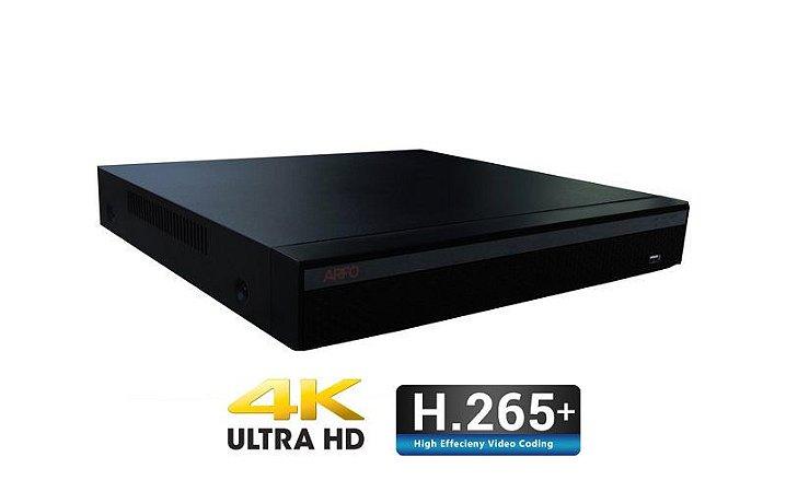 NVR ARFO Modelo NVR AR-3636A 36 Canais IP FULL HD/4K,(gravação e visualização), H.264/H.264+/H.265/H.265+, Armazenamento Até 20 TB  ( disco não incluso)