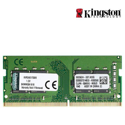 MEMORIA DDR4 8GB 2400MHZ SODIMM- KVR24S17S8/8 KINGSTON