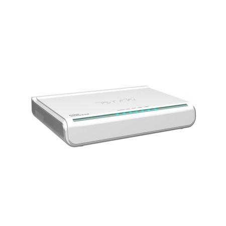 Roteador 4p Tenda modelo R502 Switch **somente cabo - não é Wireless**