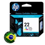 CARTUCHO DE TINTA HP 22 TRICOLOR 6ML
