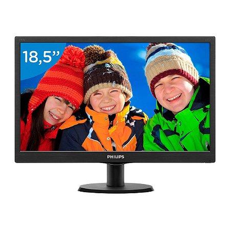Monitor Philips LED 18,5 Polegadas - Vesa