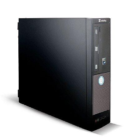 Computador Itautec Infoway - AMD Phenom Z550 - RAM 4GB - HD 320GB - Reformado com Windows 7 Pro