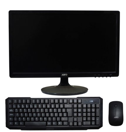 ARFO ALL IN ONE, AR-1210, MINI INTEL CORE I3 VESA, MONITOR 18,5, 4Gb ssd120, LINUX, TECLADO E MOUSE SEM FIO ARFO