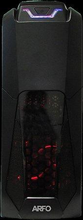 COMPUTADOR GAMER ARFO, PLATAFORMA 8TH E 9TH. Geração, Mother Gamer Z370, Gabinete Gamer com Fonte gamer de 400w Gamer ( Adicionar: Processador 8th, Memoria DDR4, Disco e PLaca de video)