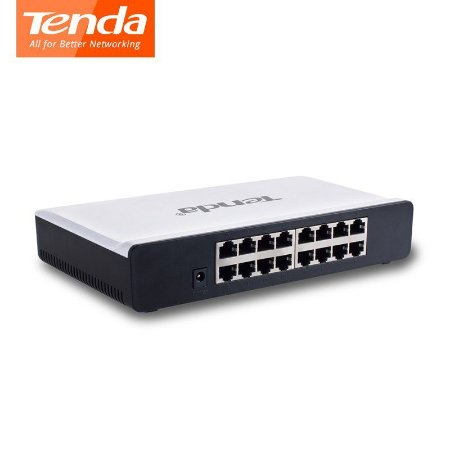 SWITCH DE MESA TENDA 16 PORTAS FAST ETHERNET 10/100MBPS - MOD S16