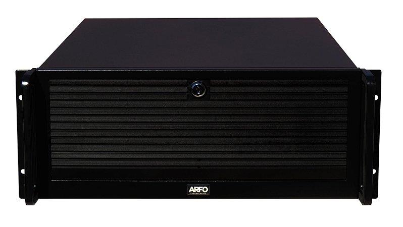 Arfo Server Com processador Intel® Xeon Quad Core E3-1220 De 3,1ghz, 8mb cahe, 8Gb, Hd 1tb, gabinete rack 19
