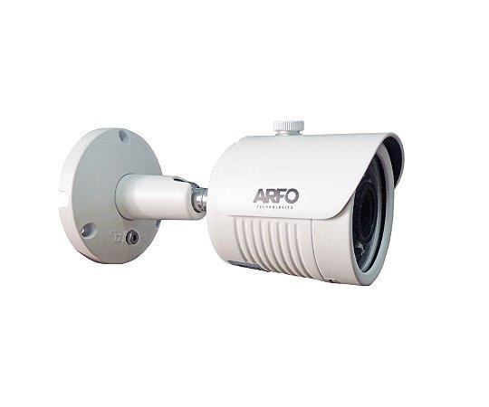 Câmera de Segurança Arfo IP. AR-P200 B, 2MP, IR 25MT, H.265+/H.265/H.264, Night color (Imagem colorida com a luz das estrelas) com slot para cartão de memoria