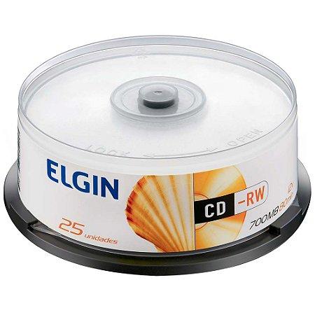 CD-R 25 PCS - NAO É PRINTÁVEL