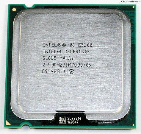 PROCESSADOR INTEL CELERON E3200 2.40GHZ/1M/800/06