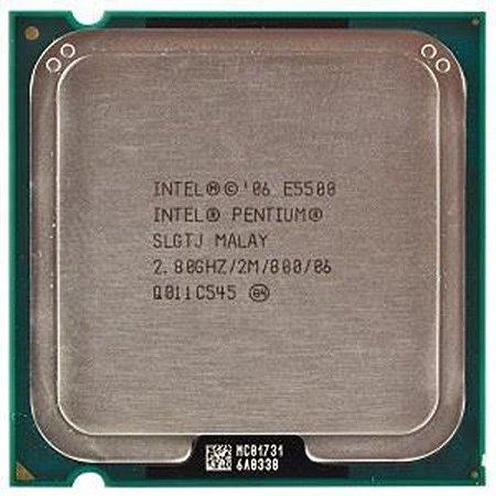PROCESSADOR INTEL PENTIUM E5500 2.80GHZ/2M/800/06