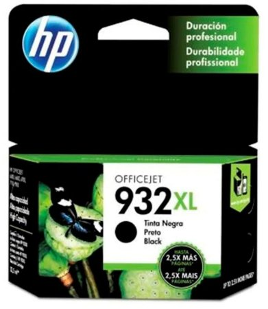 Cartucho Hp Cn053al Preto 932xl