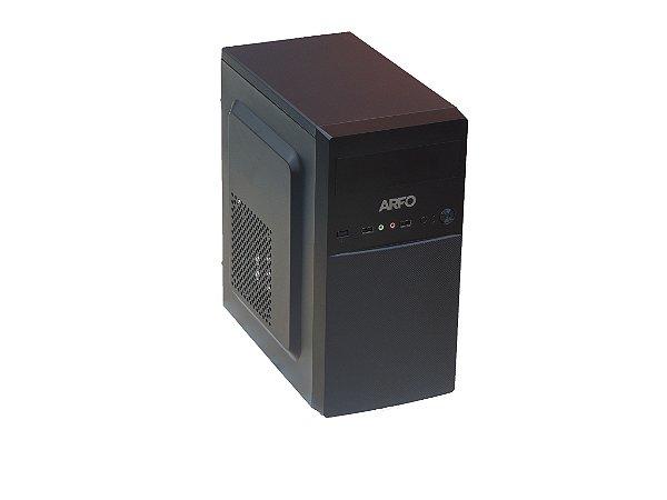 COMPUTADOR ARFO QUAD CORE MOD. AR-4105 PRO, 4M Cache, up to 2.50 GHz, 120GB SSD, 4GB MEMORIA DDR4, 6USB - COM LINUX