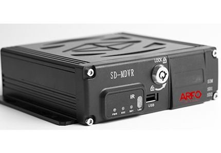 MDVR AR-1070 ARFO AUTOMOTIVO 4CH, 720P ,4G, WIFI, GPS, ARMAZ. DE 2 CARTÃO SD 120GB (N/ INCLUSO)