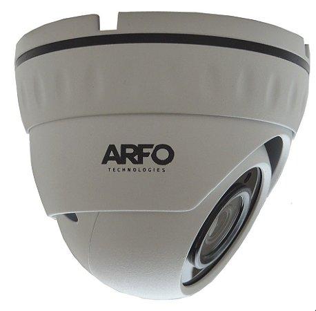 CÂMERA DE SEGURANÇA IP/POE ARFO MOD. AR-S200D 2MP DOME H.265+ IR 30MT, 3.6mm + poe interno
